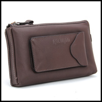 2013 casual fashion best leather men wallet
