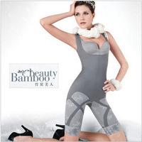Manufacturers selling Natural Bamboo Charcoal Magic Clothing Garment Jumpsuits Super Model Body Underwear Elastic Fibers