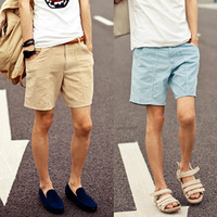Free shipping 2013 casual male universal vintage corduroy casual small shorts male