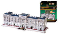 FREE SHIPPING 3D Puzzle Buckingham Palace The World Great Achitecture educational toys for kids NEW ARRIVAL HOT