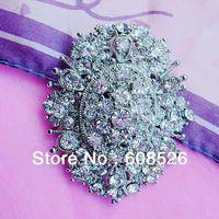 free shipping 1 piece clear crystal rhinestone beautiful flower brooch  pin hot sale, Item No.: BH7103