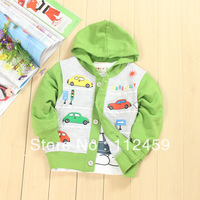 Spring baby cloth jacket /infant/toddler long sleeve shirt/T shirt ,baby's clothing,Free Shipping  0-2 years