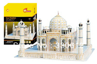 FREE SHIPPING Christmas/Birthday gift,3D DIY Models,Home Adornment,Model Puzzle Toy,Papermodel,Papercraft,Card model,TAJ Mahal