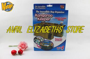 Free Shipping 2pc=1set ,Kangaroo Keeper The Incredible Bag Organizer KANGAROO KEEPER AS SEEN ON TV
