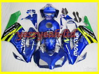 Blue Injection Molded Fairing for CBR1000RR 04 05 CBR-1000RR 2004-2005 CBR 1000RR 04 05 2004 2005