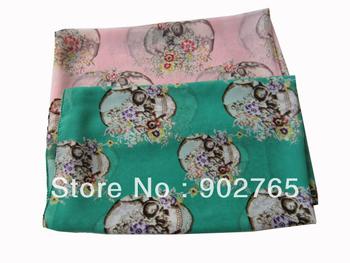 Free Shipping~lady skull flower scarf/fashion lady novel shawls