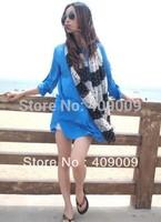 free shippig +new arrival fashion lace pint dot shawls /hijab