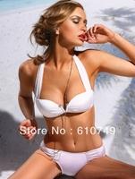 Free Shipping 2014 New arrival Hot Sale Fashion Brand woman Sexy bikini with PAD Hot swimsuits Ladies swimwear beachwear
