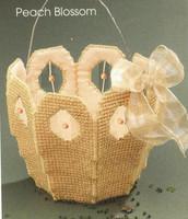crochet thread crochet yarn cotton embroidery floss T three-dimensional embroidery - - bow small basket storage mercerizing yarn