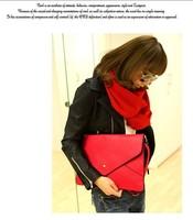 2013 candy color envelope bag shoulder bag briefcase day clutch bag messenger bags