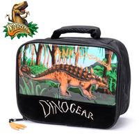 Dinosoles child  primary school students animal cartoon Lunch Dinner Food Bag  Ankylosaurus lunch box tote storage bags 1pcs/lot