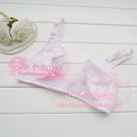 Thin bra adjustable front button underwear push up sexy bra feeding 100% cotton bra