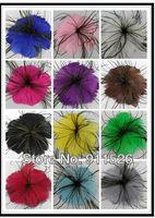 10-12cm Wedding hair accessory,Fashion feathers,flower hair clip,Brooch and Pin, bridesmaid fascinator