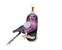 Free shipping Wholesale full capacity 2GB 4GB 8GB 16GB 32GB purple eagle shape 2.0 Memory Stick USB Flash Drive, E1173