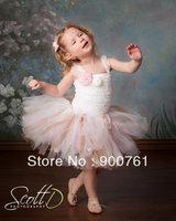 Pink brown lace Princess Petti Tutu,girls tutu ballet skirt,tutu skirt MOQ 1 pc