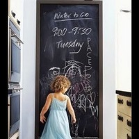 Free shipping 45CM*200CM Blackboard Home Sticker, Removable Wall Decal, Chalkboard Stickers