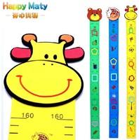 Eva height ruler cartoon wall stickers height wall stickers child height stickers