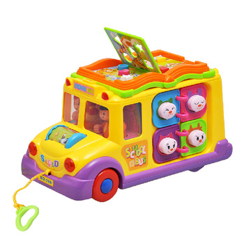 Department of music 796 bus multifunctional toy car music car 8 10
