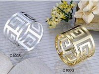 Free Shipping round shape Metal alloy napkin ring gold and silver color for table decoration  5pcs/lot