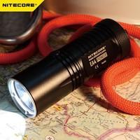 Free Shipping + 1PC Nitecore EA4 Flashlight CREE XM-L U2 LED 3 Mode Flashlight 860 lumen Mini Torch Nitecore Flashlight