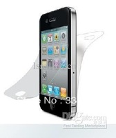 For iPhone 4G screen LCD protectors anti-glare privacy 100pcs/Lot 2 PACK