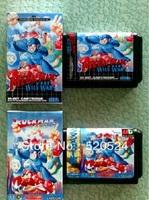 Mega Man For Sega Mega Drive Video Game console system 16 bit MD card