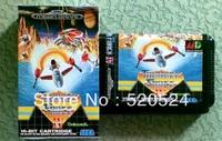 Thunder Force 4 For Sega Mega Drive Video Game console system 16 bit MD card