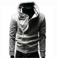 Free Shipping Hot High Collar Coat Top Brand Men's Jackets Men's Dust Coat Men's Hoodies Sweatshirts