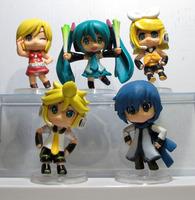 NEW Vocaloid Miku Hatsune Rin Len set of 5pcs Figures G1