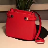Free shipping Fashion women's handbag geometry type rivet drawstring bag 2013 spring hot-selling q women's vintage shoulder bag