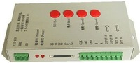 2013 new version T-1000S SD card led pixel controller free shipping by DHL
