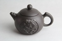 free shipping  chaozhou dragon teapot Capacity 200ml Length 11.5cm width 7.3cm height 7.6cm Solid texture good heat preservation