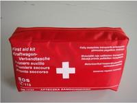 Post mail ship CE mark high quality Fak114 ! car first aid kit first aid kit