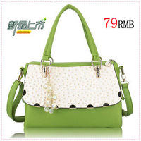 2013 summer one shoulder handbag cross-body crystal candy all-match female bags