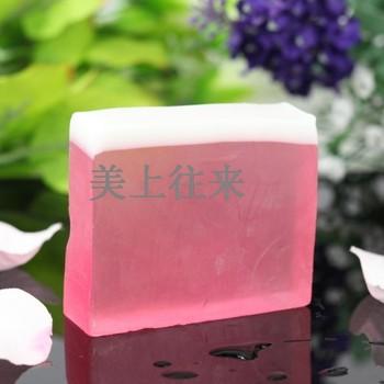 Wild rose essential oil soap face soap handmade soap full-body whitening soap rejuvenation