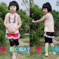 Summer Shorts Little Girl Hot Pants Kids Summer Cool Wear,Free Shipping  K0128