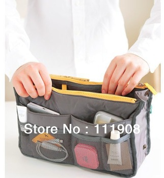 Free ship extra thick NYLON OXFORD protable multifunctional storage bag as travel bag for book mobile phoneas travel accessory.