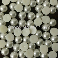 Free shipping High quality 4mm 10000pcs pearl color ABS flatback pearl beads DIY accessory