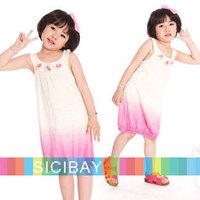 Summer Fashion Dress Girls Flower Dress,Leisure Wear,Free Shipping   K0378