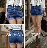 Women's jeans shorts,hot sale ladies' denim pants WashJean Denim Shorts ,free shipping