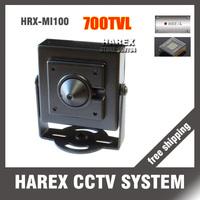 700TVL CMOS mini hidden pinhole cctv camera, free shipping.