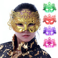 20pcs/lot Wholesale Fashon Masquerade Party Masks Christmas mask supplies mask powder laciness Mask
