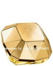 free shipping 100% original box golden million women perfume for female 80ml
