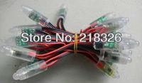 50pcs/string waterproof led pixel module,12mm WS2811 pixel module,DC5V input;full color