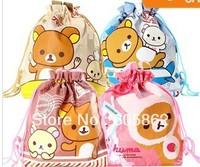 New kawaii Rilakkuma series hand bag / lunch tote/ Shopping bag  A0337