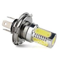 H4 7.5W 400LM White Light LED Bulb for Car Fog Lamp (12V)