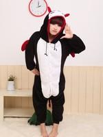 JP Anime  Unisex Pajamas Demon Cosplay Costume Adult Pyjamas Long Sleeve Hoodies Party Dress