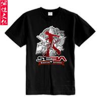 New arrival roller 120-metre-tall seba roller jersey short-sleeve T-shirt clothes male