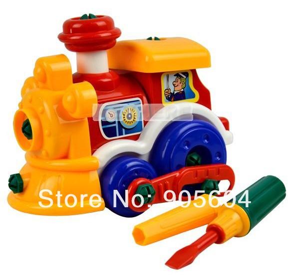 Funny Cute Baby Kinderen Kleurrijke Ontwikkeling Trein Speelgoed