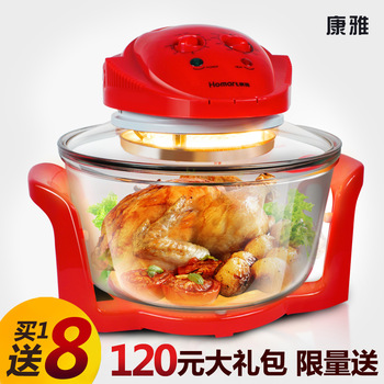 Co-906 air fryer oille electric fryer household multifunctional glass oven